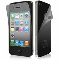 Матовая защитная пленка для iPhone 4 (айфон 4) на две стороны