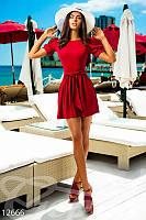 Женское платье красное  р. 42,44,46
