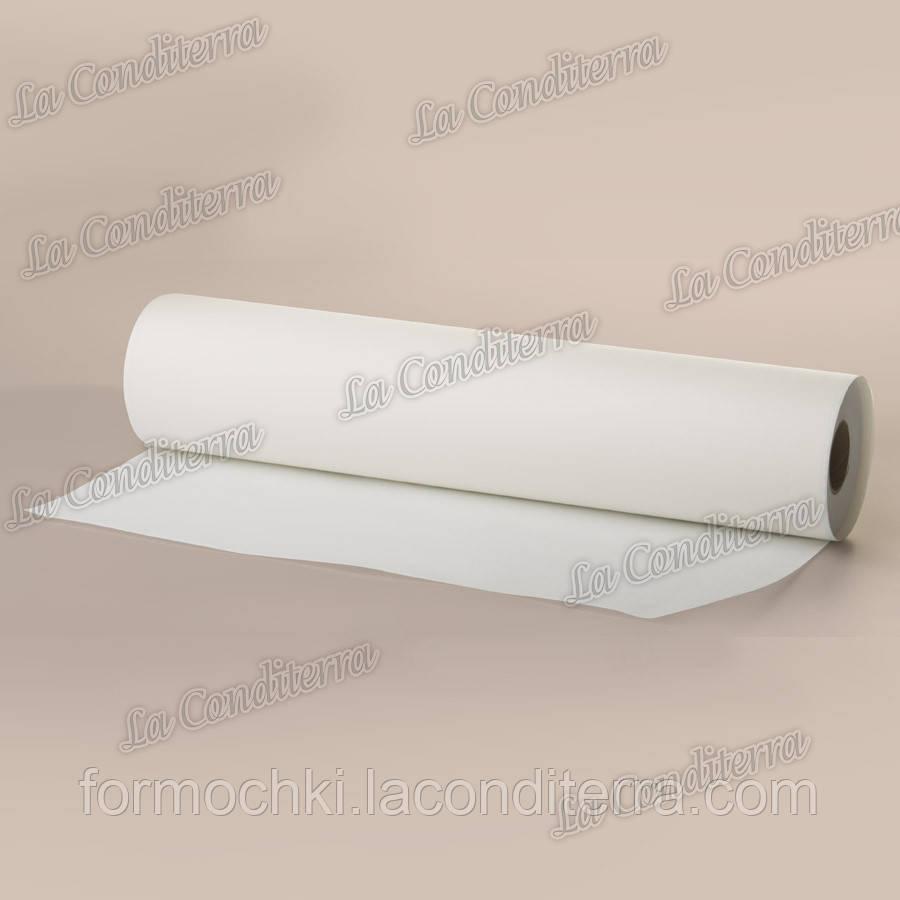 Силиконизированный пергамент для выпечки белый в рулоне (ширина 570 мм, 200 м)