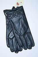 Классические женские перчатки из натуральной тонкой кожи