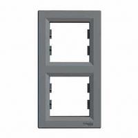 Рамка 2-я сталь вертикальная EPH5810262