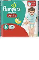 Подгузники-трусики Pampers Baby-Dry Pants 6, 29 шт.
