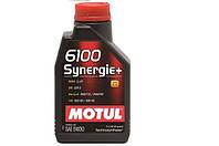 Моторное масло Motul 6100 Synergie+ 5W-30 1л