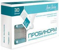 Пробинорм - высокоэффективный комплекс бифидо и лактобактерий для восстановления баланса кишечной микрофлоры, а также профилактика дисбактериоза/