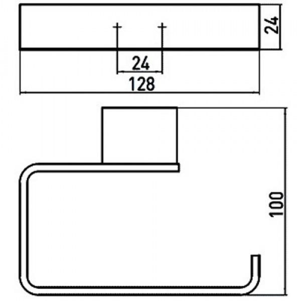 emco Держатель туалетной бумаги Emco Loft 0500 001 01