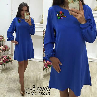Женское платье №67-16013 БАТАЛ