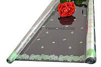 """Пленка для цветов """"Луг цветной зеленый"""" 0,7 кг*800мм"""
