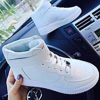 Кроссовки в стиле Nike Air Force высокие