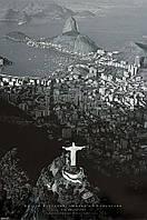 """Постер """"Rio de Janeirocristo Redentor"""""""