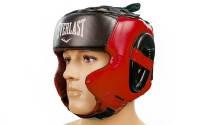 Шлем боксерский в мексиканском стиле FLEX EVERLAST (красный)
