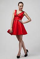 Короткое нарядное платье в стиле беби-дол