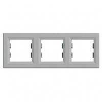 Рамка 3-я алюминий горизонтальная EPH5800361