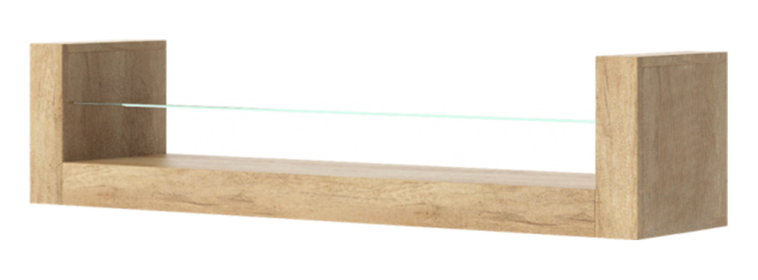 Полка из массива дерева 036