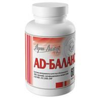 АД – баланс – биокомплекс который предназначен для профилактики гипертонической болезни, нормализации артериального давления и тонуса сосудов.