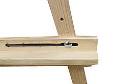 Мольберт напольный деревянный для художников Лира, №41, фото 3