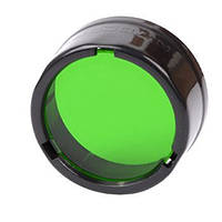 Диффузор фильтр для фонарей Nitecore NFG25 (25mm), зеленый (6-1064)