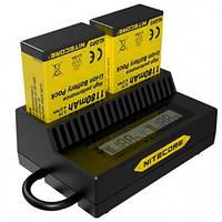 Зарядное устройство Nitecore UGP3 для GoPro Hero 3 (AHDBT- 302/301/201) (6-1162)