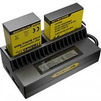Зарядное устройство Nitecore UGP4 для GoPro Hero 4/3 (AHDBT- 401/301/201) (6-1189)