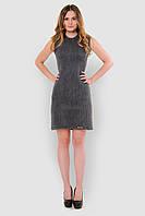 Удобное вязаное женское платье без рукавов 90140, фото 1