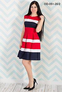 Красивое платье-миди в ретро-стиле (в расцветках)