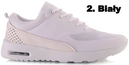 Женские кроссовки CARLA White