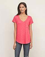 Розовая футболка  Abercrombie&Fitch, фото 1