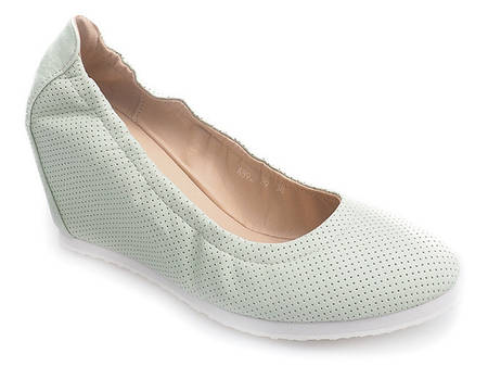 Женские туфли PISTACJOWE