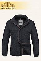 Мужская черная осенняя куртка MOC арт. 41