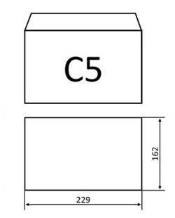 Конверты С5 (162х229) мк, белый (0+0), фото 2