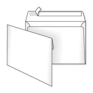 Конверты С5 (162х229) скл, белый (0+0), фото 2