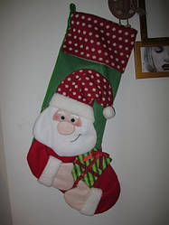 Сапожок Дед Мороз 74см