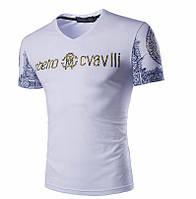 Мужская футболка Роберто Кавалли.