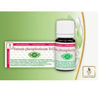 СОЛЬ ШЮССЛЕРА #4 Ferrum phosphoricum D12