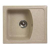 Кухонная мойка мрамор композит Fosto 58x50