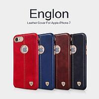 Кожаный чехол накладка Nillkin Englon для Apple iPhone 7 (4 цвета)