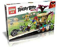 Детский конструктор Angry Birds Кража яиц с Птичьего острова 305 д