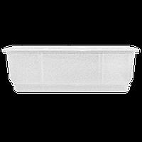 Алеана Вазон балконный Дама 100х18 см (белый флок)