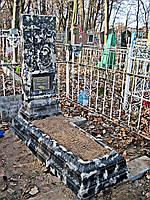 Памятники ритуальные из бетона