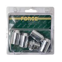 Набор секреток на литые диски 5 предметов, L-21 мм Force