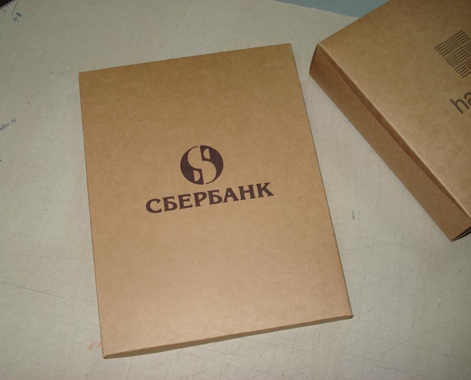 Коробки из крафт картона 12