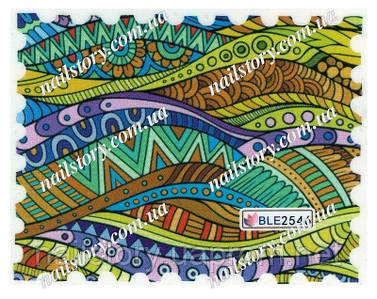 Водные наклейки для ногтей BLE2546