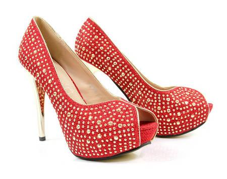 Женские туфли SHARLA red