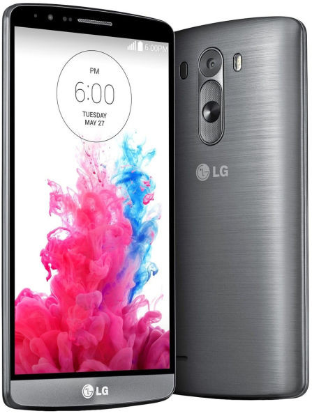 LG D858 G3 Dual (Metallic Black)