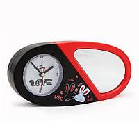 Часы трансформер сердечко с зеркалом., фото 1