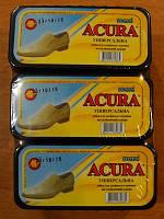 Губка-блеск для обуви Acura бесцветная макси 6шт/уп