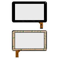 Сенсорный экран (Touchscreen) для Assistant AP-715, 30 pin, оригинал (черный)