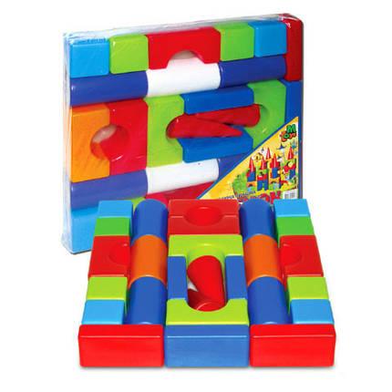 Конструктор Теремок средний 08072 M-Toys п/э, фото 2