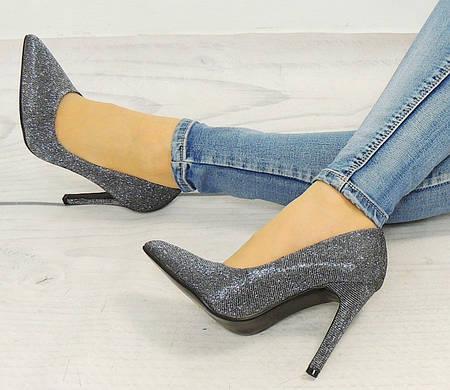 Женские туфли Phoenix SREBRNE