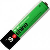 Аккумулятор никель-металлогидридный Ni-MH AAA (R03) Soshine 1.2V (1100mAh) (11-1012)