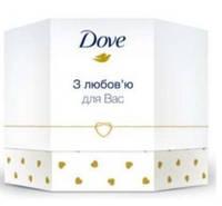 Подарунковий набір Dove жіночий Краса та догляд. Крем- мило Dove Ваниль 100 г + Крем Dove Живильний 75 мл